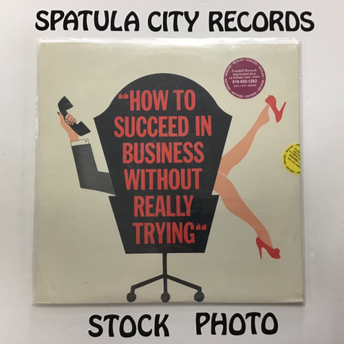 How to Succeed in Business Without Really Trying - soundtrack - SEALED - vinyl record LP