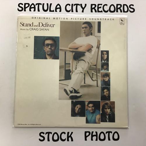 Craig Safan - Stand and Deliver - soundtrack - SEALED - vinyl record LP