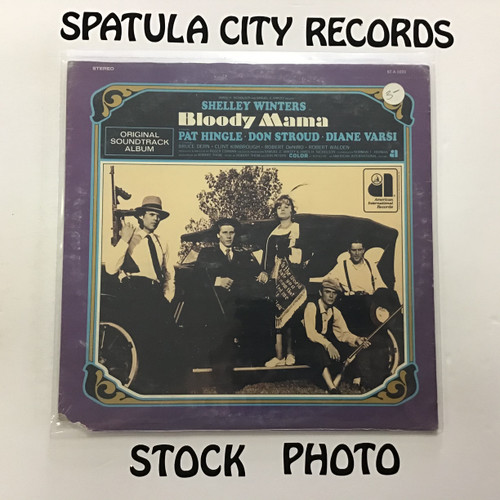 Don Randi - Bloody Mama - soundtrack - SEALED - vinyl record LP