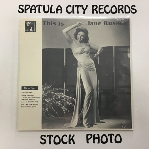 Jane Russell - This is Jane Russell - SEALED - vinyl record LP