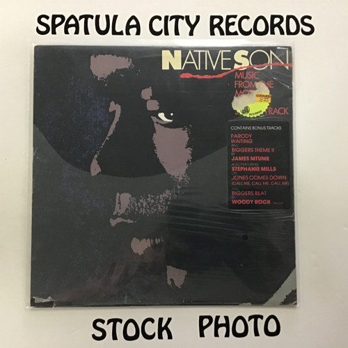 James Mtume - Native Son - soundtrack - vinyl record LP