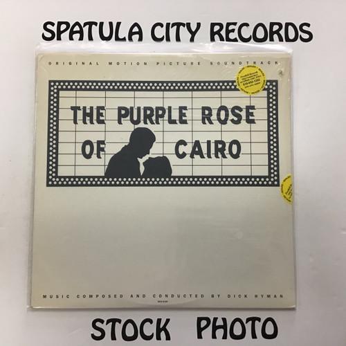 Dick Hyman - The Purple Rose of Cairo - soundtrack - SEALED - vinyl record LP