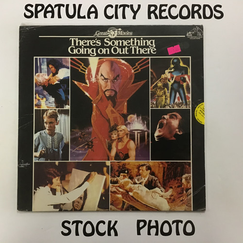 There's Something Going On Out There - compilation - soundtrack - SEALED - vinyl record LP