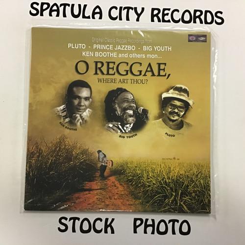 O Reggae, Where Art Thou? - SEALED - Compilation  - Vinyl Record Album LP