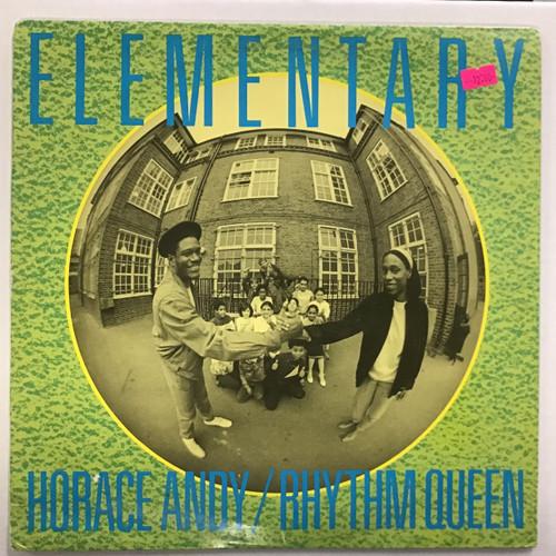 Elementary - Horace Andy/ Rhythm Queen Vinyl record
