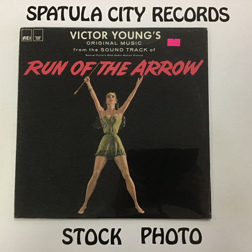 Victor Young - Run of the Arrow - soundtrack - MONO - SEALED - vinyl record LP