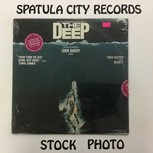 John Barry - The Deep - soundtrack - IMPORT - SEALED - vinyl record LP