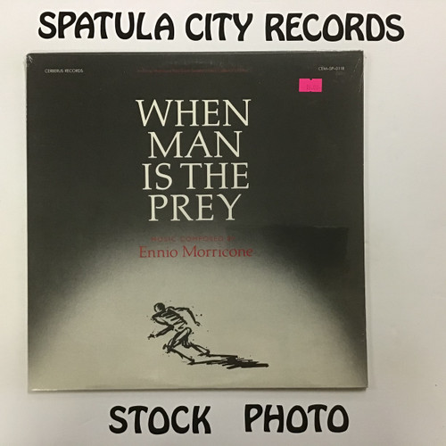 Ennio Morricone - When Man is the Prey - soundtrack - SEALED - vinyl record LP