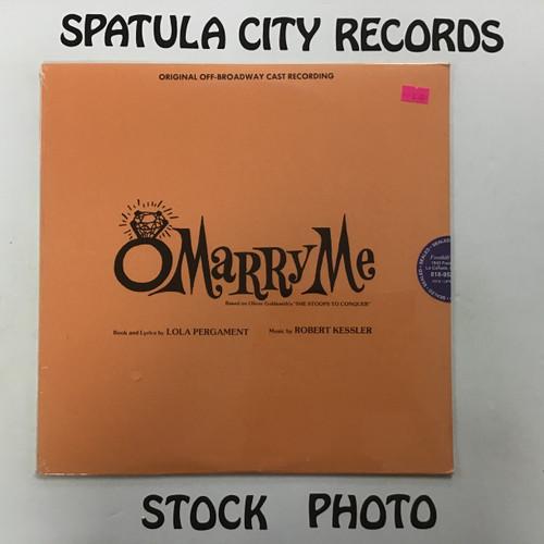 O Marry Me - soundtrack - SEALED - vinyl record LP