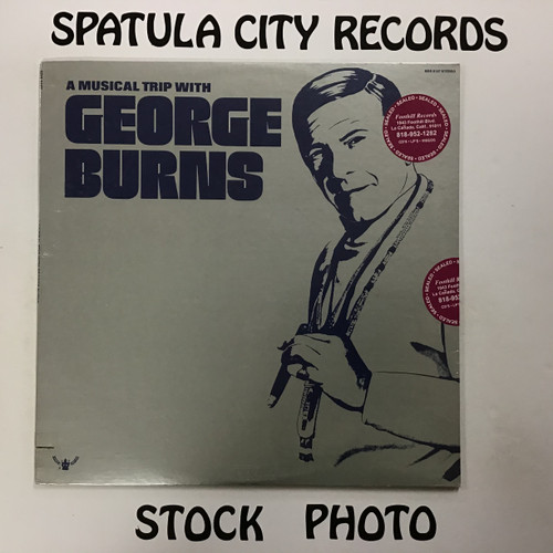 George Burns - a Musical trip with George Burns - vinyl record album LP