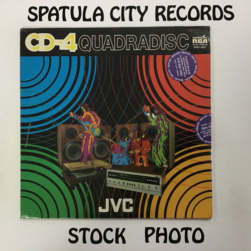 CD-4 Quadradisc JVC Presents The Spectacular Sounds Of CD-4  - Sealed - Vinyl record album LP