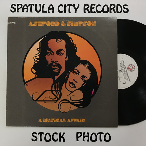 Ashford and Simpson - A Musical Affair - vinyl record LP