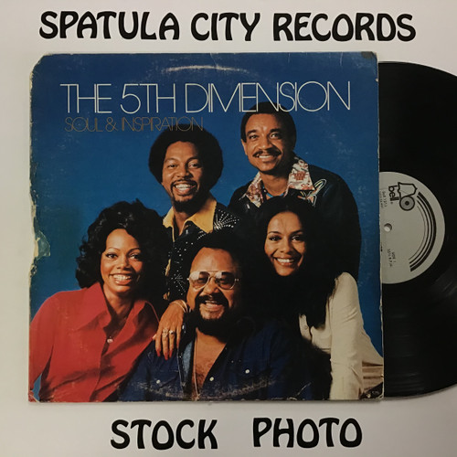 5th Dimension, The - Soul and Inspiration - vinyl record LP