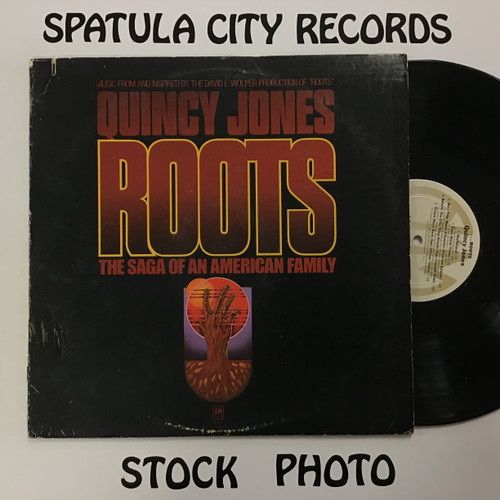 Quincy Jones - Roots - vinyl record LP