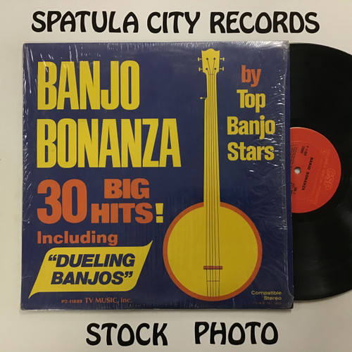 Banjo Bonanza - compilation - double vinyl record LP