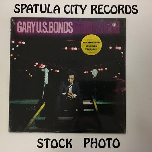Gary U.S. Bonds - Dedication - SEALED - vinyl record LP