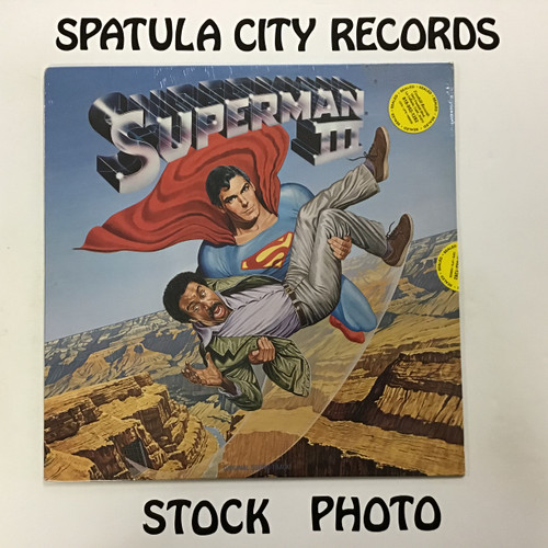 Superman III - soundtrack - SEALED - vinyl record LP