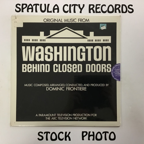 Dominic Frontiere - Washington Behind Closed Doors - soundtrack - SEALED - vinyl record LP