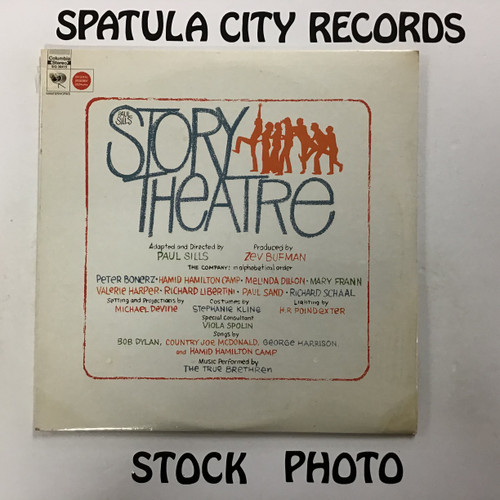 Paul Sills and The True Brethren - Story Theatre - soundtrack - SEALED - double vinyl record LP