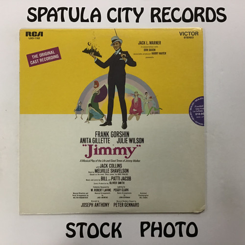 Jimmy - soundtrack - SEALED - vinyl record LP