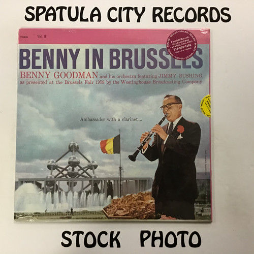 Benny Goodman and his Orchestra - Benny in Brussels Volume II - SEALED - vinyl record LP