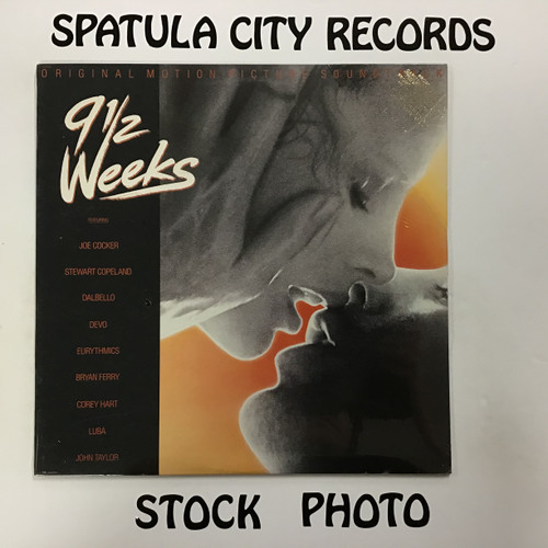 9 1/2 Weeks - soundtrack - SEALED - vinyl record LP