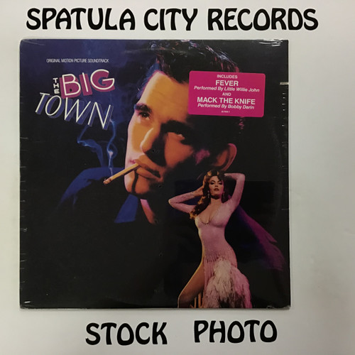 Big Town, The - soundtrack - SEALED - vinyl record LP