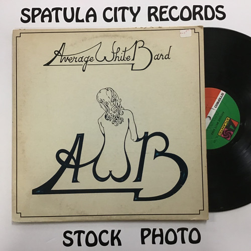 Average White Band - AWB - vinyl record LP