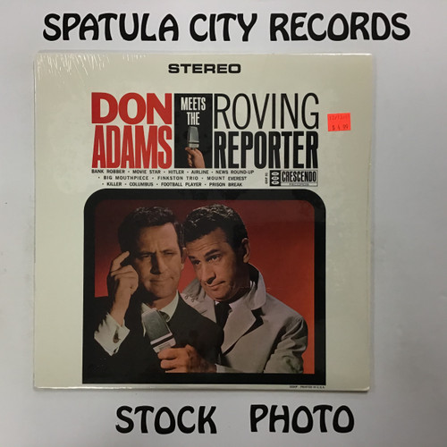 Don Adams - Don Adams Meets The Roving Reporter - SEALED - vinyl record LP