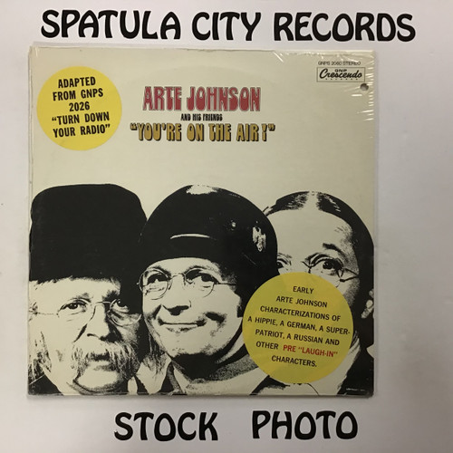 Arte Johnson - You're On the Air! - SEALED - vinyl record LP