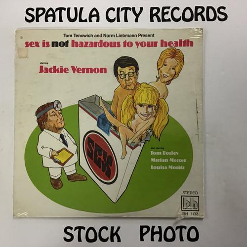 Jackie Vernon - Sex Is Not Hazardous to Your Health - SEALED - vinyl record LP