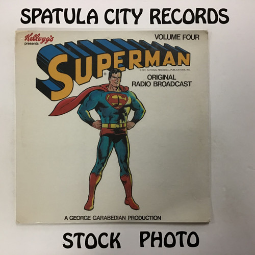 Superman - Superman Volume Four (original radio broadcast) - SEALED - vinyl record LP