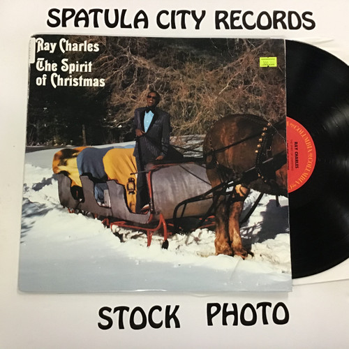 Ray Charles - The Spirit of Christmas - vinyl record album LP