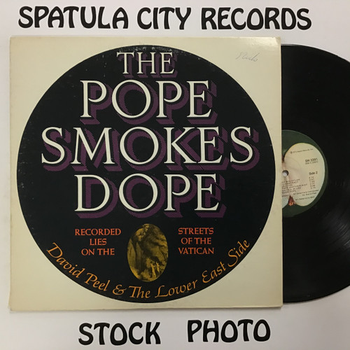 David Peel and the Lower East Side - The Pope Smokes Dope - vinyl record LP