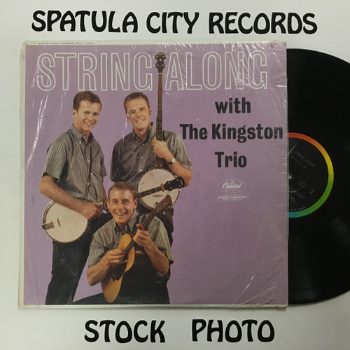 Kingston Trio, The - String Along - MONO -vinyl record LP