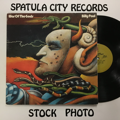 Billy Paul - War of the Gods - vinyl record LP