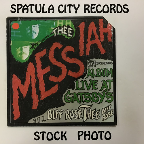 Biff Rose - Thee Messiah Live at Gatsby's - SEALED - vinyl record LP