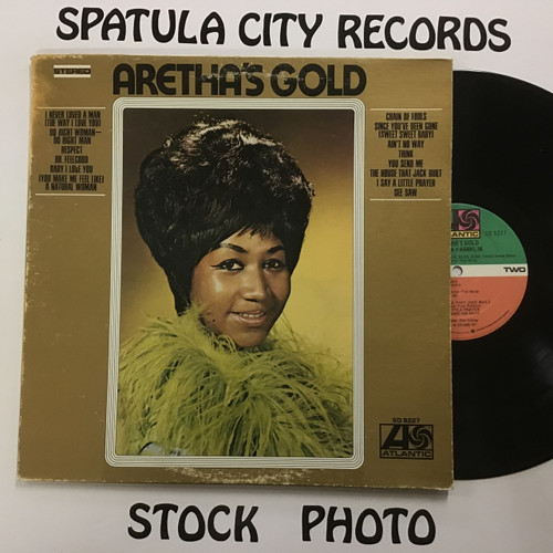 Aretha Franklin - Aretha's Gold - vinyl record LP