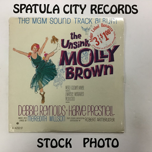 Meredith Willson - The Unsinkable Molly Brown - soundtrack - SEALED - MONO - vinyl record LP