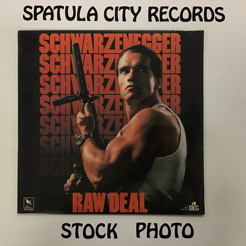 Raw Deal - soundtrack - SEALED - vinyl record LP
