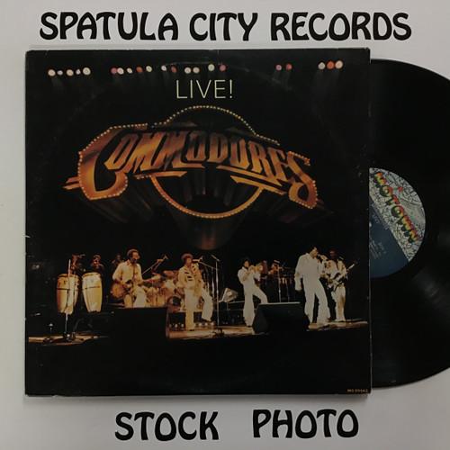 Commodores - Live! - double vinyl record LP