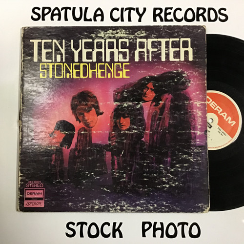 Ten Years After - Stonedhenge - vinyl record LP