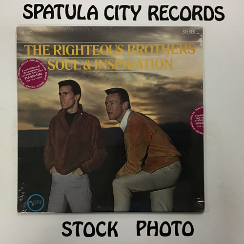 Righteous Brothers, The - Soul and Inspiration - SEALED - vinyl record LP