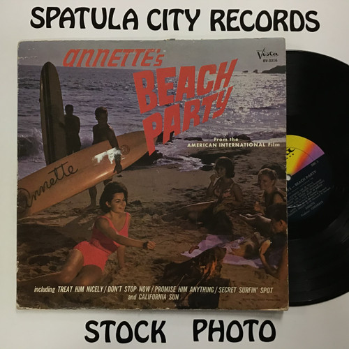 Annette - Annette's Beach Party - soundtrack - MONO - vinyl record LP