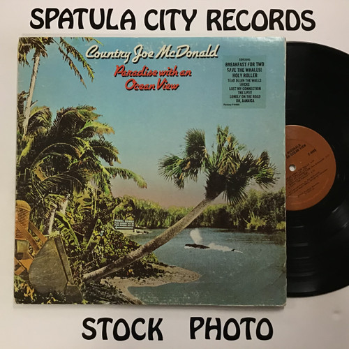 Country Joe McDonald - Paradise with an Ocean View - vinyl record LP