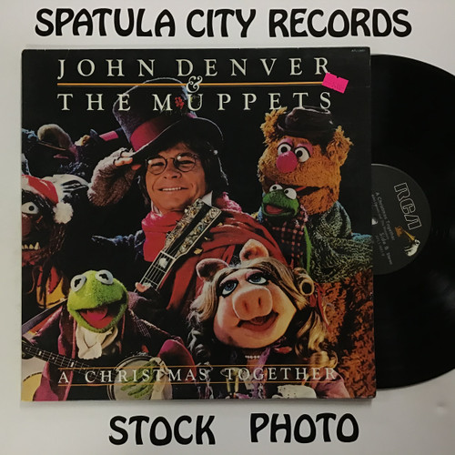 John Denver and The Muppets - A Christmas Together - vinyl record LP