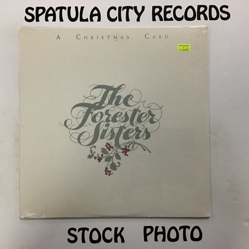 Forester Sisters, The - A Christmas Card - SEALED - vinyl record LP