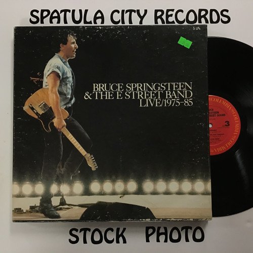 Bruce Springsteen and the E Street Band - Live/1975-85 - 5 x vinyl record LP