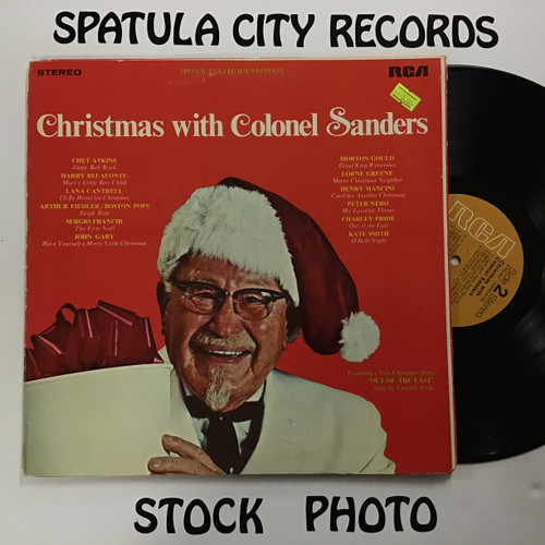 Christmas with Colonel Sanders - compilation - vinyl record LP