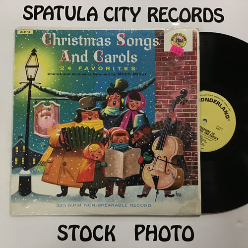 Mitch Miller and his Orchestra and Chorus - Golden Treasury of Christmas Songs and Carols - vinyl record LP